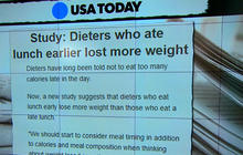Study: Timing of meals may help weight loss