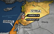 Israeli planes hit Syrian target