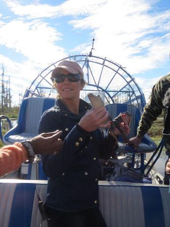 Gayle and Norah take NOLA bayou