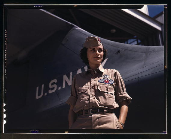 U.S. service women through the years