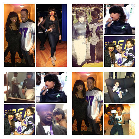Instagram pics from Super Bowl XLVII