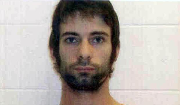 """这张由ErathCountySheriffâÃ,Ã,办公室提供的照片显示了Eddie Ray Routh。德克萨斯州公共安全部门于2013年2月3日星期日表示,他因涉嫌杀害前海军海豹突击队和""""美国狙击手""""作家克里斯凯尔和查德利特菲尔德在德克萨斯州中部射击枪杀事件被指控犯有谋杀罪。"""