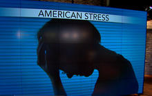 American stress levels declining