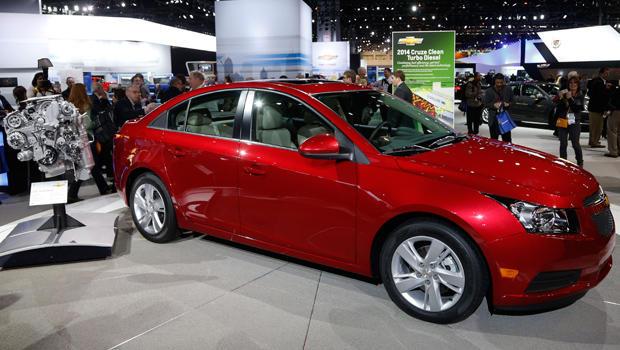 General Motors Introduces Chevrolet Cruze Diesel Cbs News