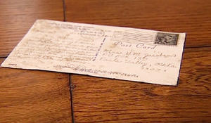 Father regularly sends his children postcards as simple act of love