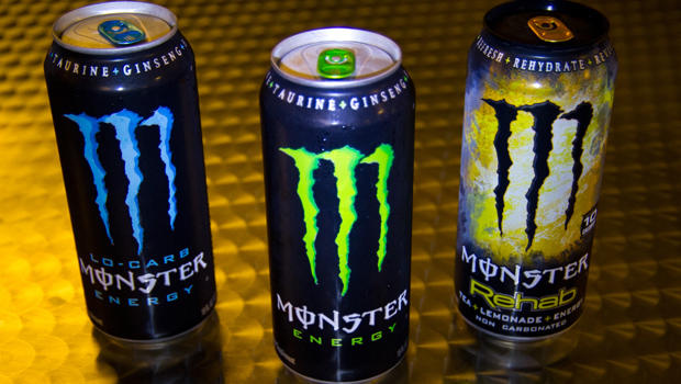 Monster to label caffeine content on energy drinks - CBS News