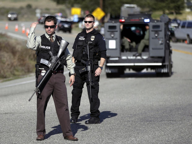 Ex-LAPD cop accused of going on killing spree