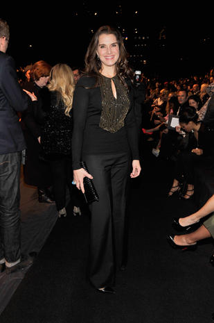 Celebrities at New York Fashion Week 2013
