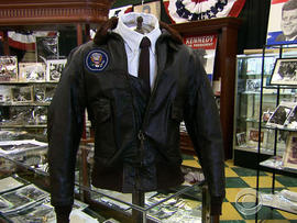 JFK's bomber jacket is expected to bring in the highest bids.