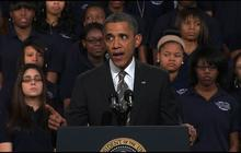 """Obama mourns """"a Newtown every four months"""""""