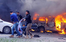 Bombs rip through heart of Syria