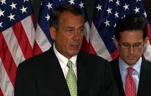 Boehner challenges Senate on budget cuts