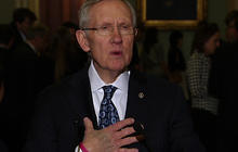 "Reid swings back at House for sitting on its ""posterior"""