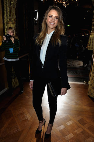 Stars at Paris Fashion Week