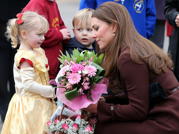 Duchess Kate visits Grimsby