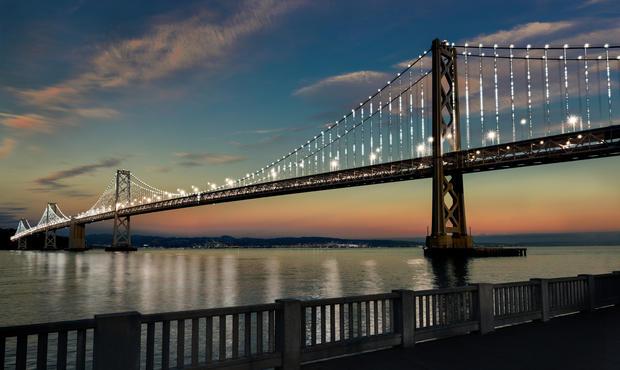 Illuminating the Bay Bridge