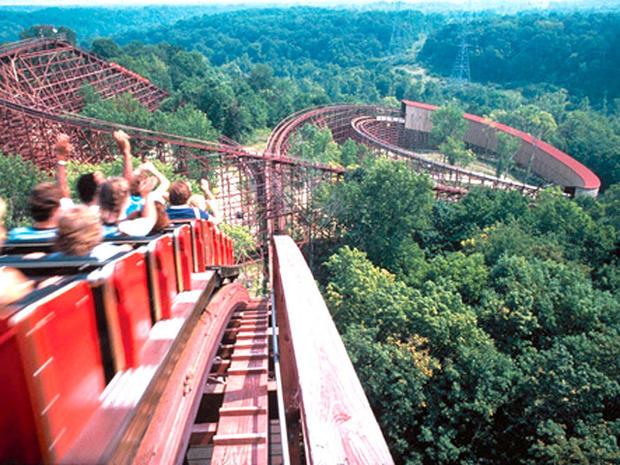 Wild wooden roller coasters