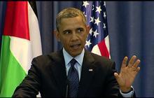 Obama talks peace process, Israeli settlements