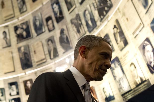 Obama visits the Holy Land