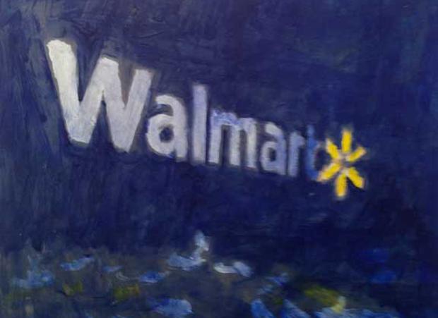 Walmart art