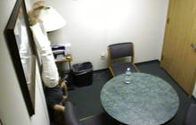 Jodi Arias stands on her head in interrogation room