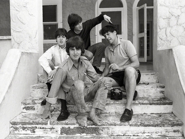 Rare images of The Beatles