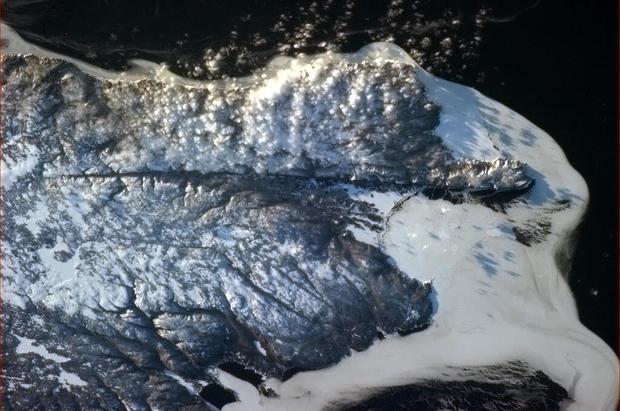 Astronaut's stunning views of Earth