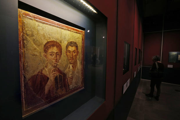 Relics of Pompeii and Herculaneum