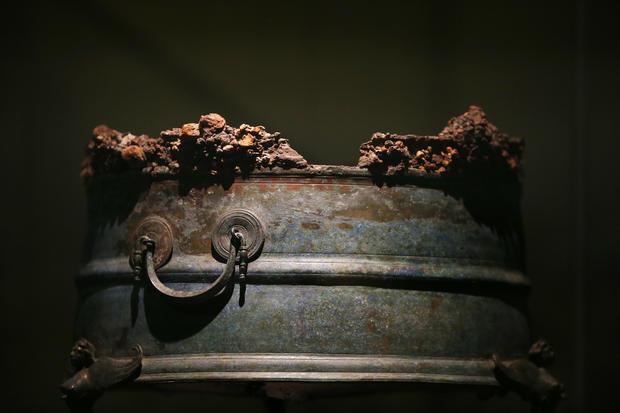 Relics of Pompeii and Herculaneum