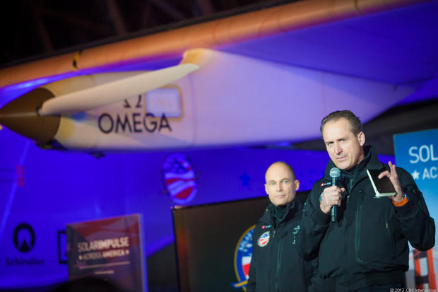 Solar Impulse set to soar on U.S. tour