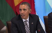 """Obama: """"Deeply concerned"""" about Nelson Mandela's health"""