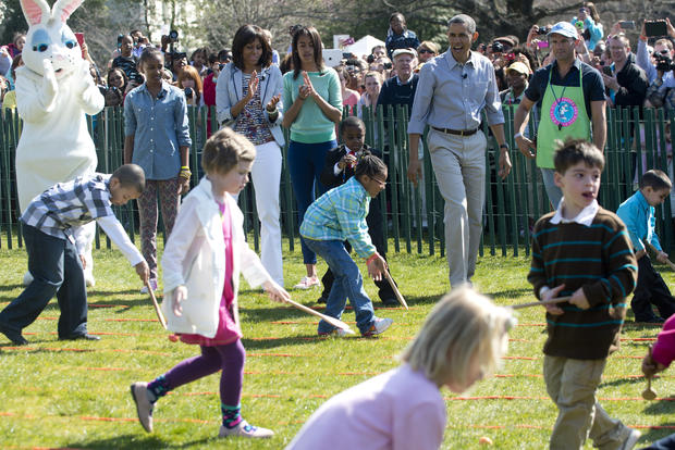 White House Easter Egg Roll 2013