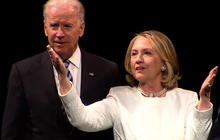 """Biden: """"There is no woman like Hillary Clinton"""""""