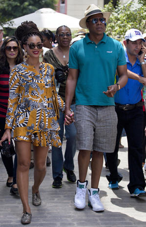 Beyonce and Jay Z in Havana