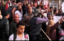 Anti-government protesters clash with police in Egypt