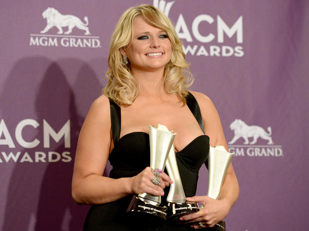 ACM Awards 2013 press room