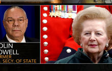 Colin Powell remembers Margaret Thatcher