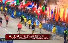 Video of Boston Marathon explosion