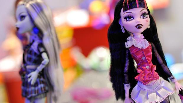 Mattel profit rises, Monster High sales climb