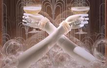 "Tiffany's unveils ""The Great Gatsby"" windows"