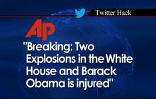 Fake AP tweet: Explosion at White House