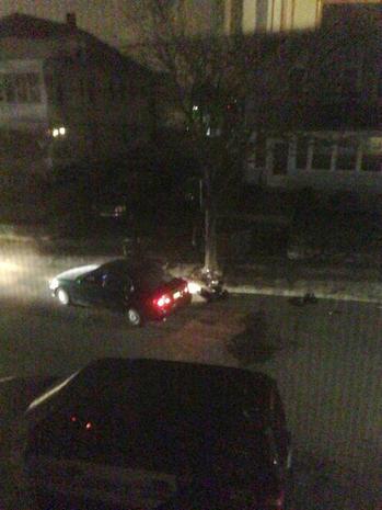Boston bombings shootout