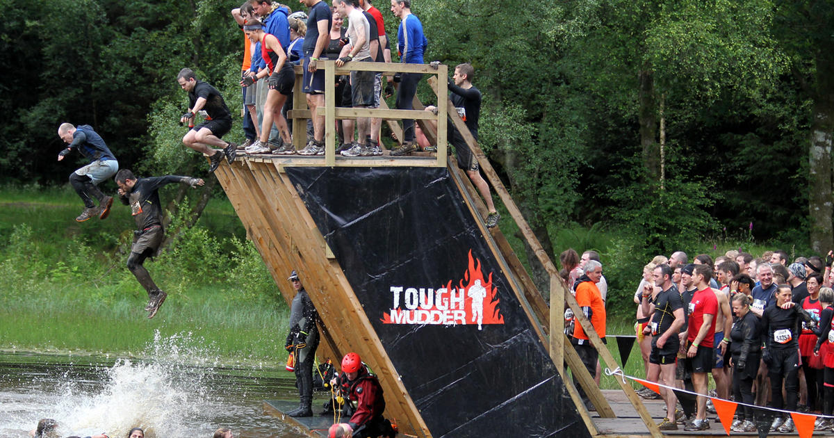 "Baltimore man dies in ""Tough Mudder"" obstacle course - CBS ...