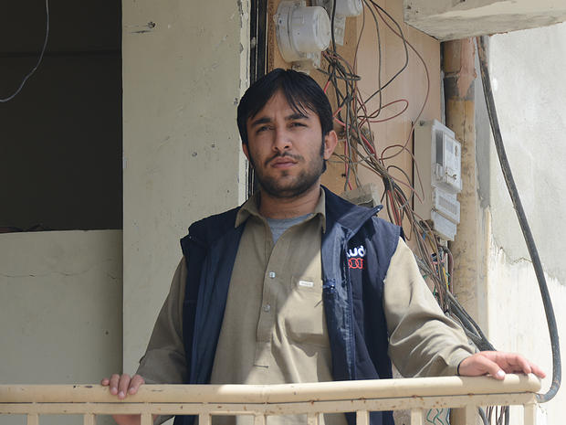 Pakistani photo journalist Mirza Mohammad Hasan