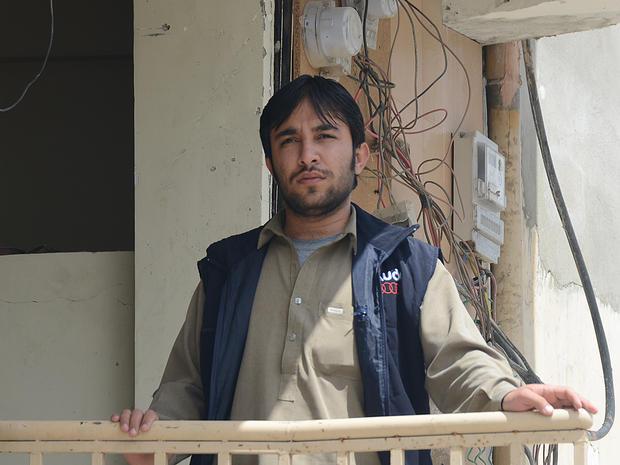 Pakistani photo journalist Mirza Mohammad Hasan