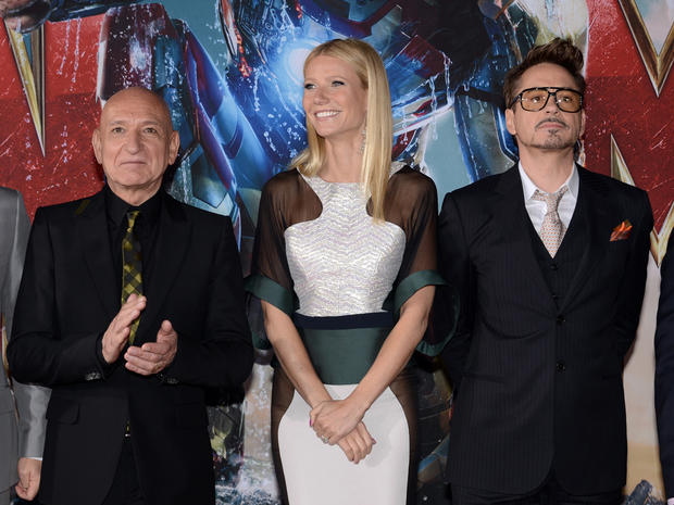 """Iron Man 3"" hits Hollywood"