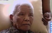 Mandela appears weak in new video