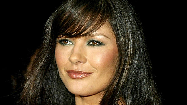 Catherine Zeta-Jones enters Catherine Zeta Jones