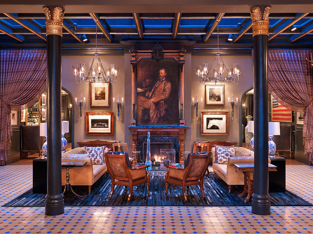 """Best new """"it"""" hotels named by Travel + Leisure magazine"""