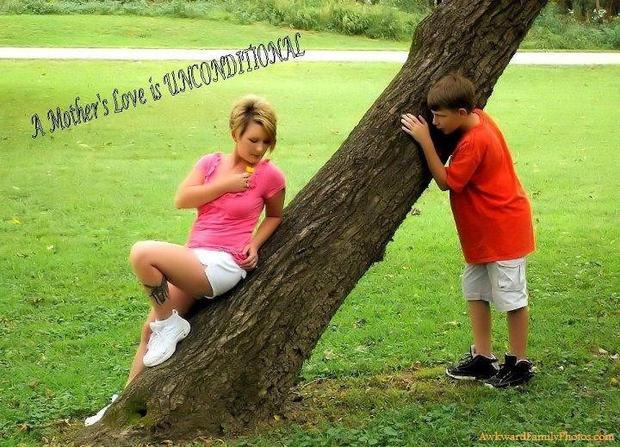 An ode to awkward moms